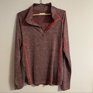 Columbia Sportswear Half-Zip Long Sleeve Shirt